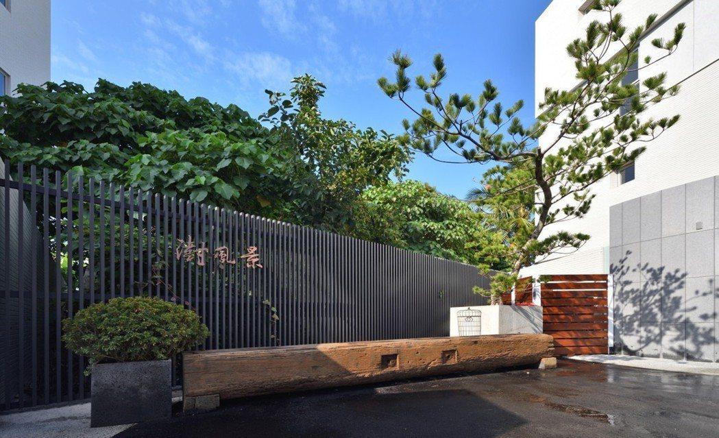 一株落羽松帶出濃濃的和風味道,讓日式的寧靜致遠在日光移影的一隅撒下種子。 圖片提...