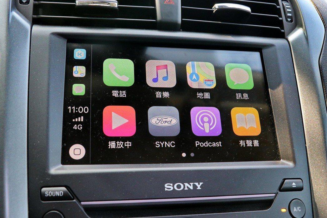 支援Apple CarPlay或Android Auto,延續手機使用習慣在車機...