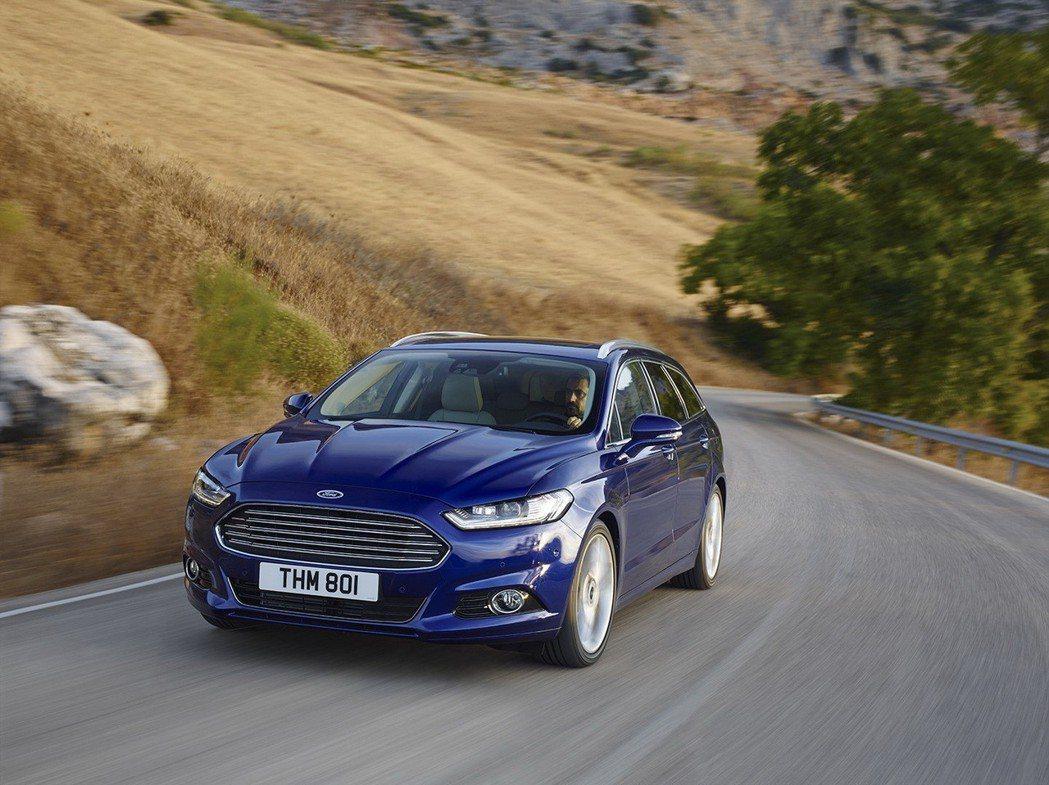 Ford Mondeo Wagon的動態表現游刃有餘。 圖/Ford提供