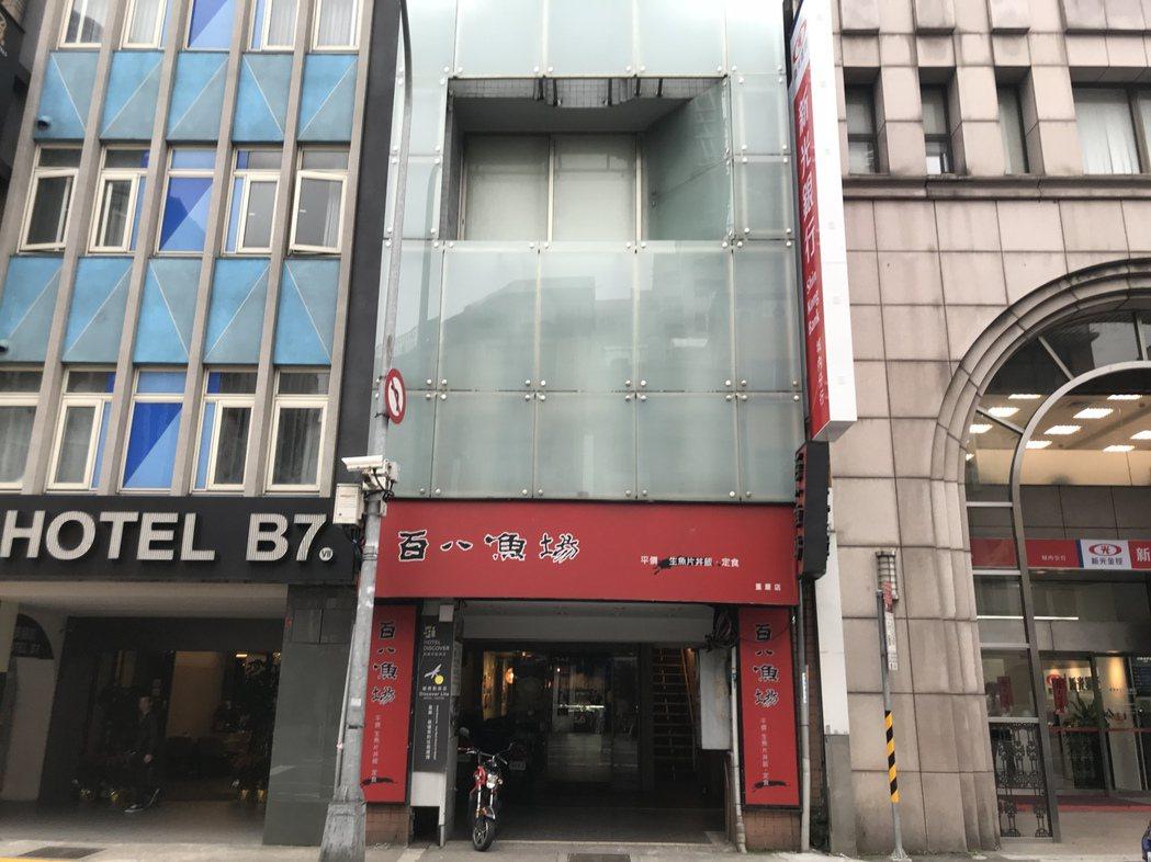 重慶南路透天店面以4.8億交易,總價創區域新高。記者游智文/攝影