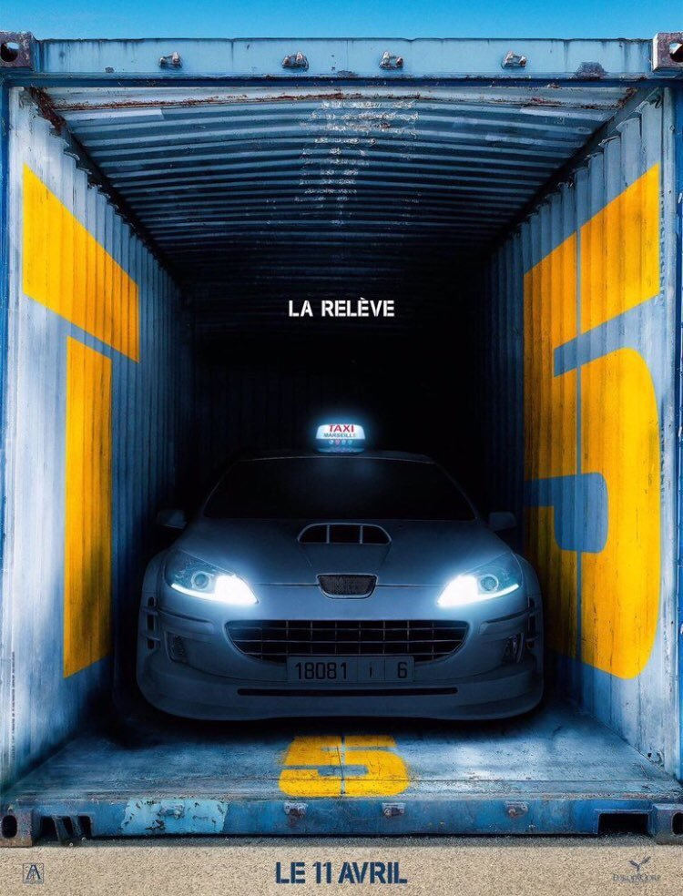 「Taxi終極殺陣5」今年4月將在台灣與法國上映。圖/摘自imdb