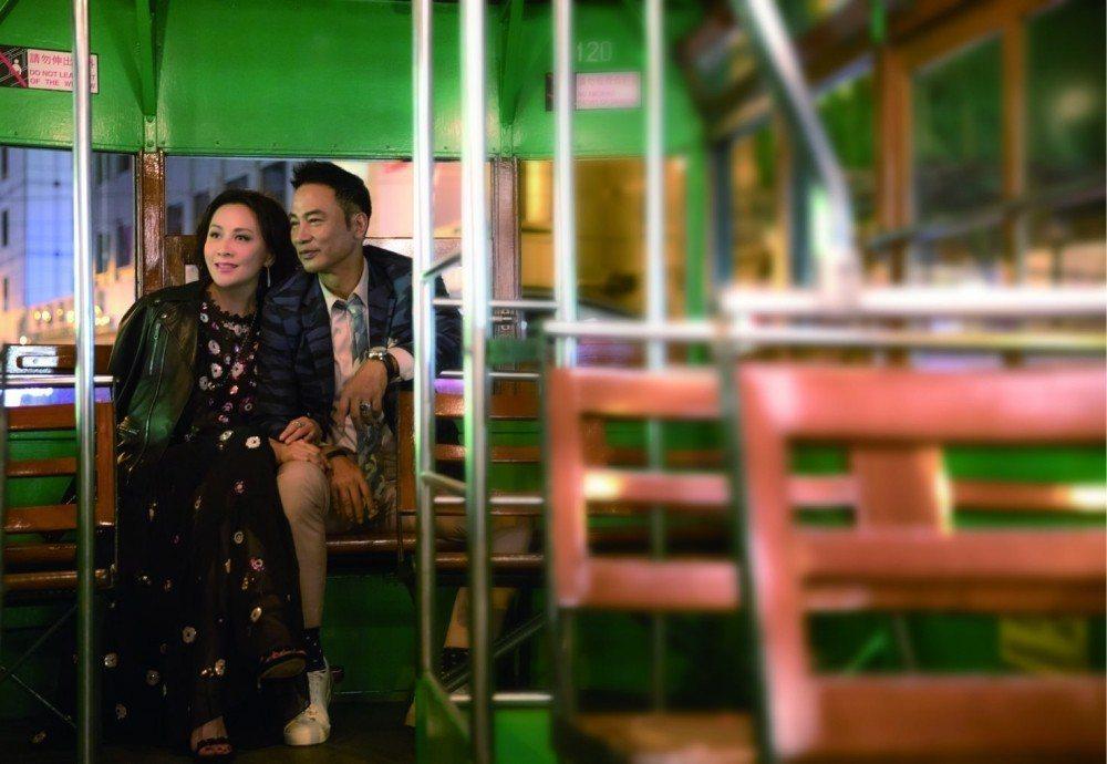 劉嘉玲與任達華在「我的情敵女婿」有精彩對手戲。圖/摘自影片官網