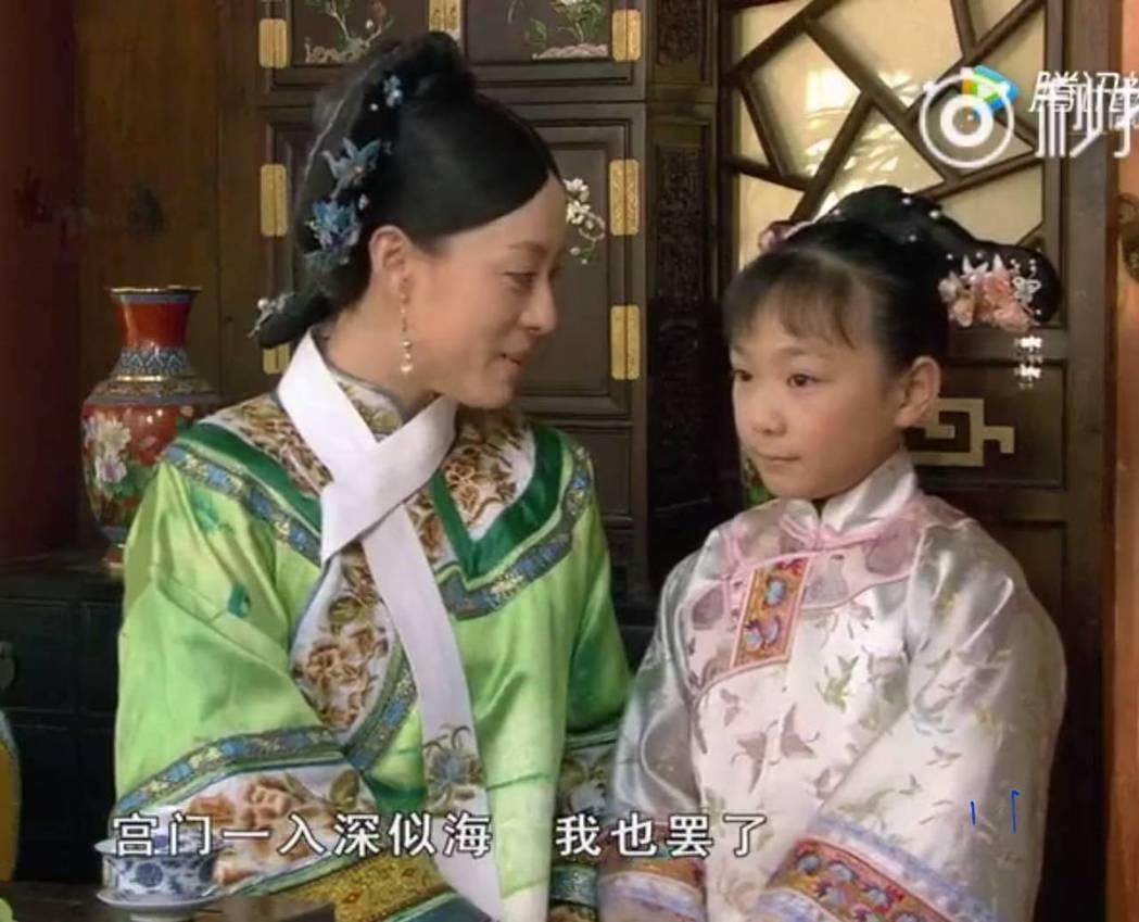 孫儷(左)曾推薦孫艷演出「後宮甄嬛傳」。圖/截圖自微博