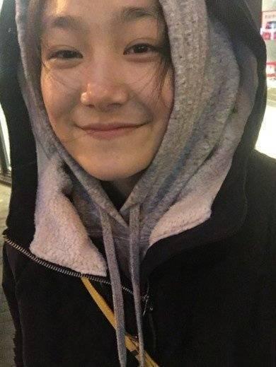 17歲的孫艷還是高中生。圖/摘自微博