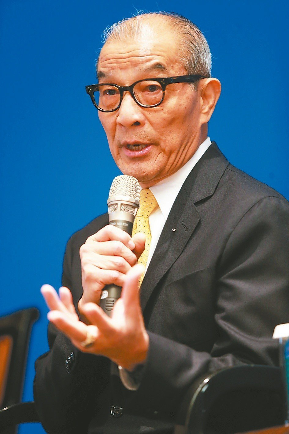 陳長文發起推動「反妨害司法公正公投」。圖/聯合報系資料照片