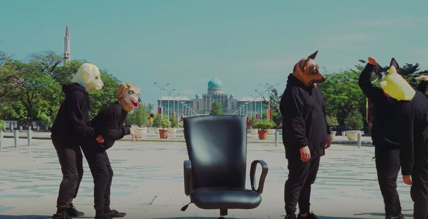 黃明志新歌「狗一樣」惹爭議。圖/摘自YouTube