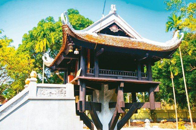 越南一柱廟。 雄獅旅遊/提供