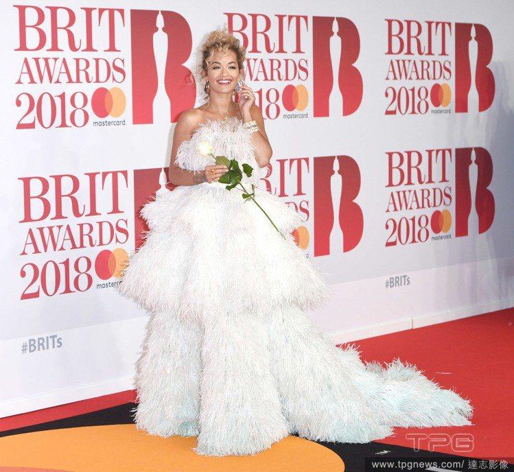 瑞塔歐拉(Rita Ora)。圖/達志影像