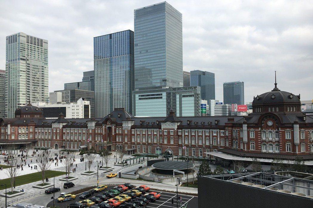 由辰野金吾設計、於1914年完工的東京站。 圖/作者自攝