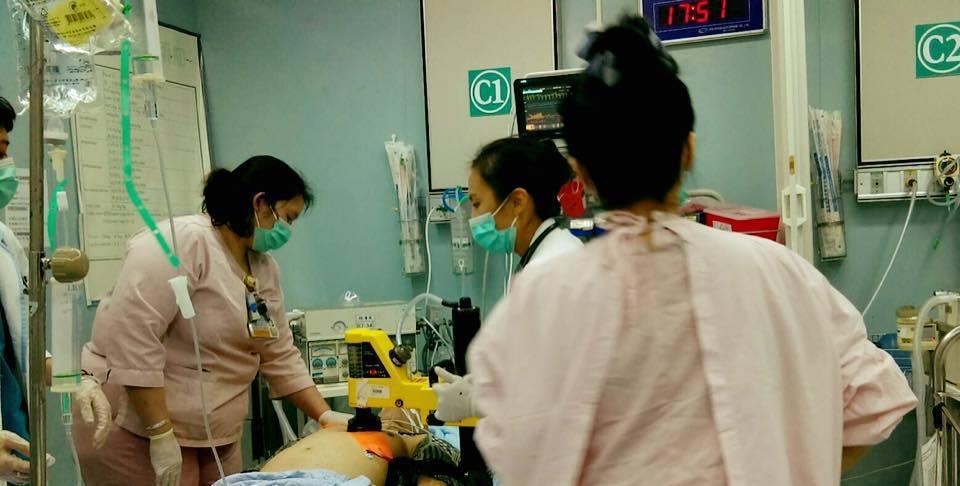急診室。圖取自田知學醫師臉書