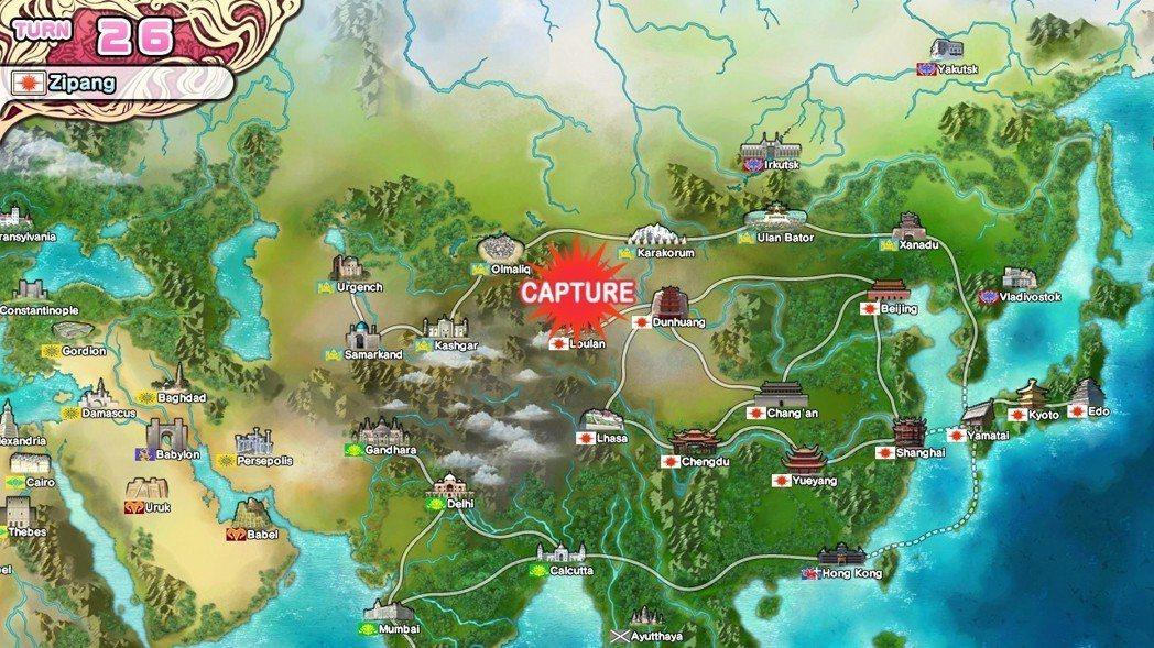 倒楣的中國陣營,緊連在日本隔壁,不先攻打他們就無法增加國土面積。