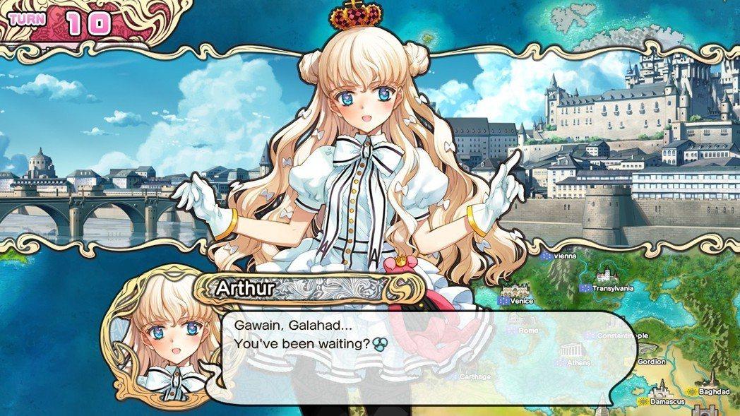 看到亞瑟王是女孩讓筆者感到異常的安心,果然亞瑟王是女性才對味啊!