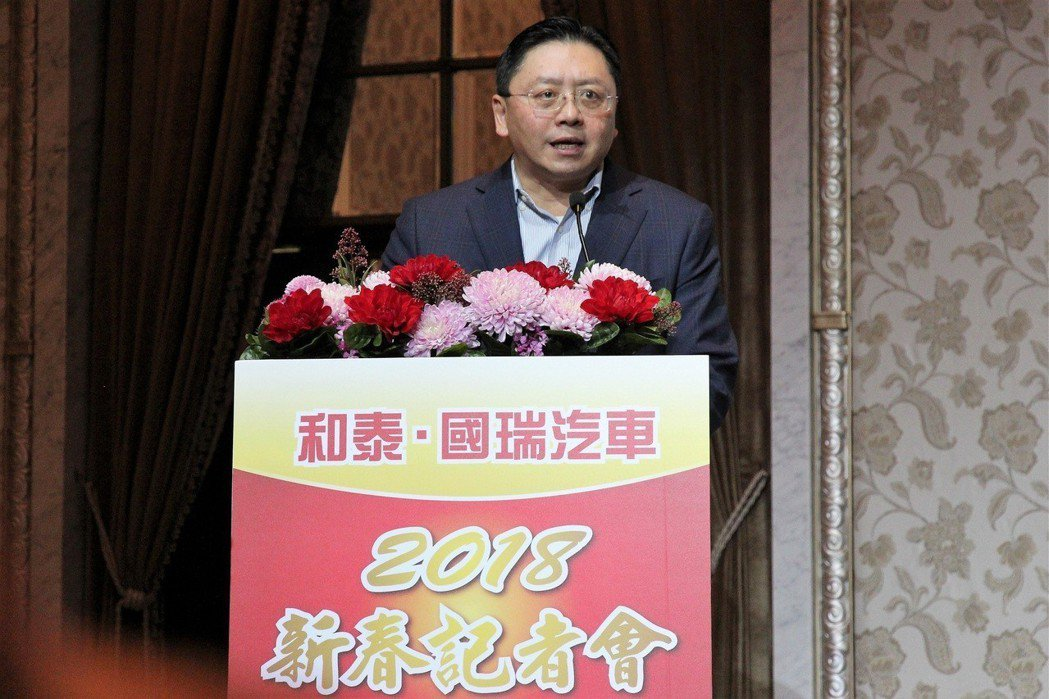 和泰汽車總經理蘇純興預估今年車市達44萬輛。 圖/和泰汽車提供