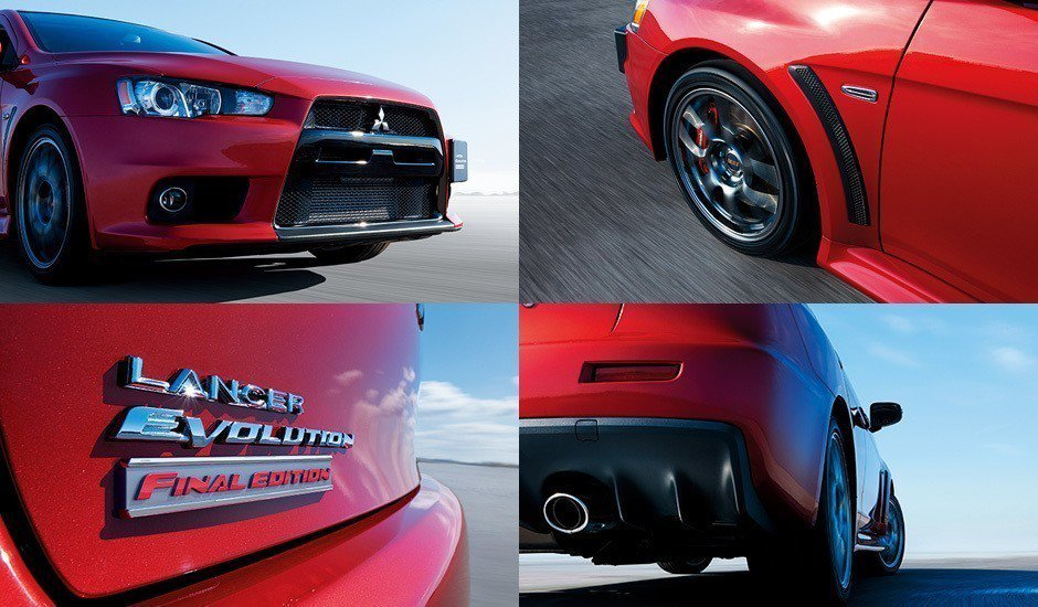 Enkei打造鋁圈、黑色車頂烤漆以及Final Edition專屬銘牌。 摘自M...