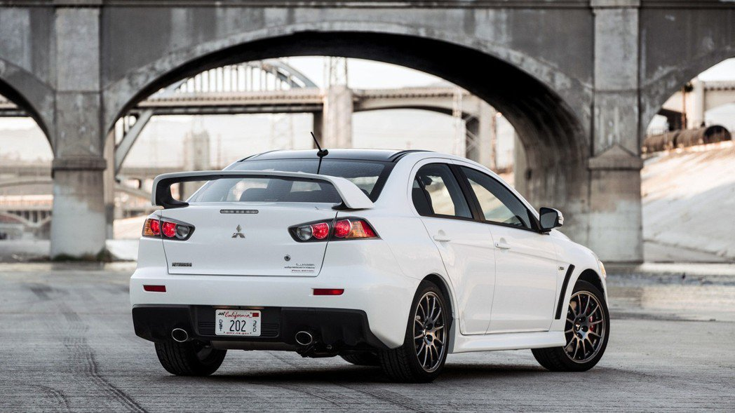 Lancer Evolution Final Edition。 摘自Mitsubishi