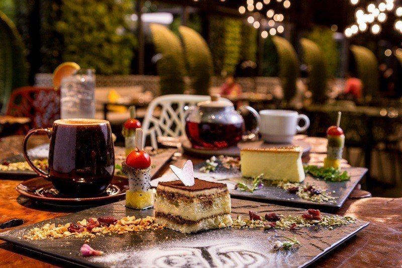 阿樹私房菜餐廳提供美味下午茶。