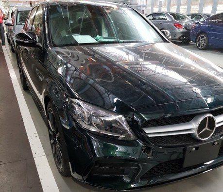 小改款Mercedes-AMG C43 南非無偽裝露出