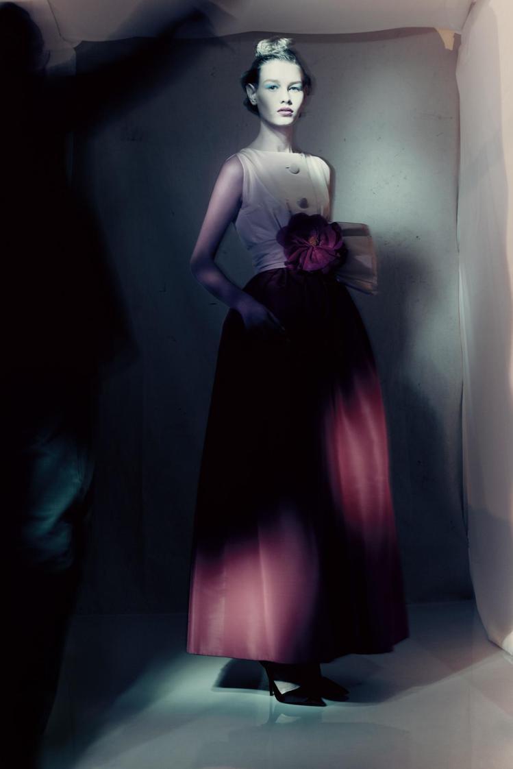 Yves Saint Laurent設計1959春夏高級訂製服Longue系列M...