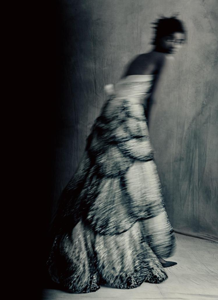 Christian Dior設計1949秋冬高級訂製服Milieu du Sie...