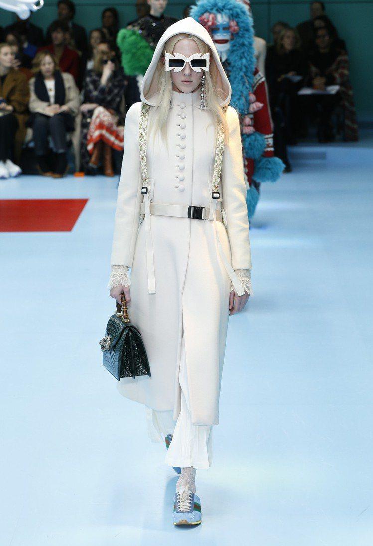 Gucci運用怪誕奇趣的主題再次宣揚品牌「脫離世俗規範」的理念。圖/Gucci提...