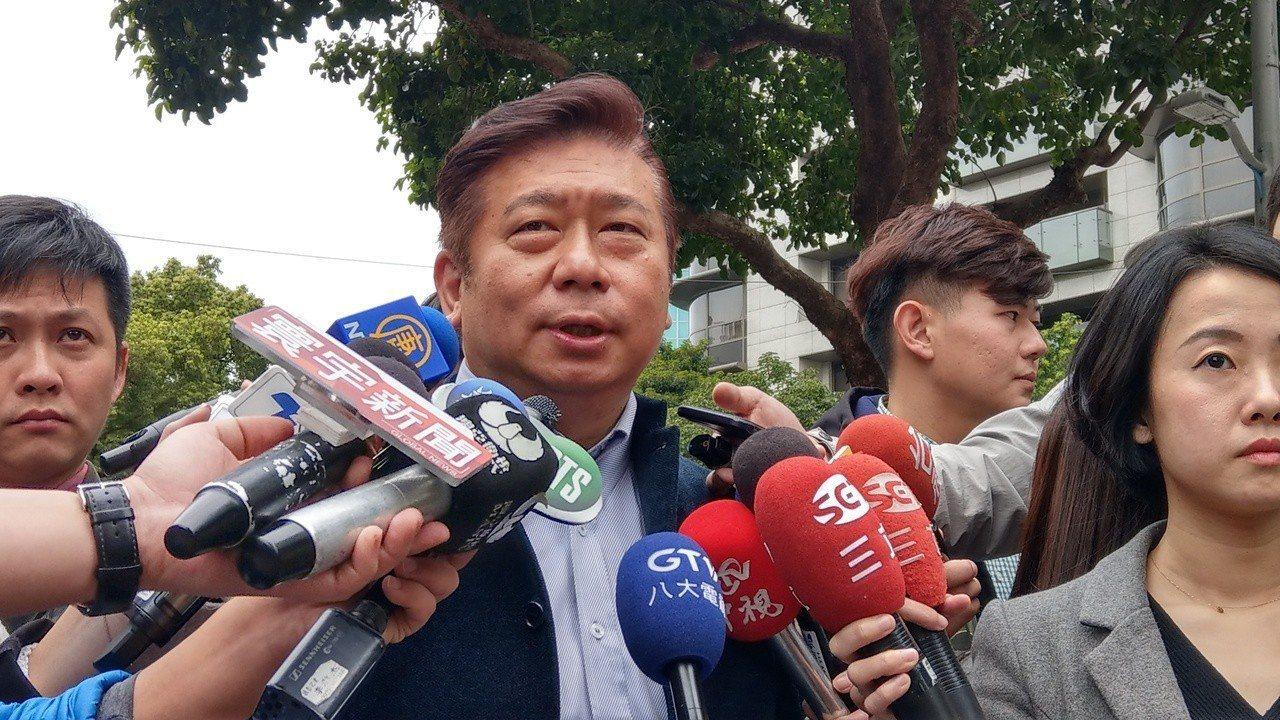 前陸委會副主委張顯耀。聯合報系資料照片/記者楊正海攝影