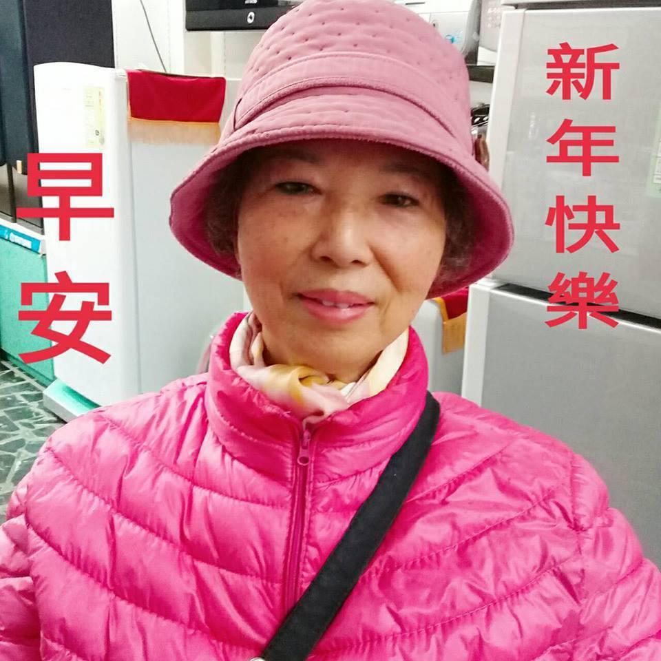 涂善妮曬出78歲媽媽照片讓網友驚呼有不老基因。圖/摘自臉書
