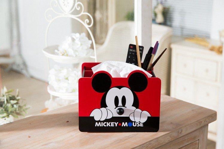 康是美米奇造型收納幸福盒超大容量好收納。圖/康是美提供