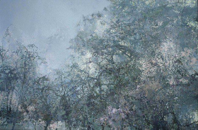 洪凌作品將於Art Basel Hong Kong展出,「溪篁賞雨」。圖/香港巴...