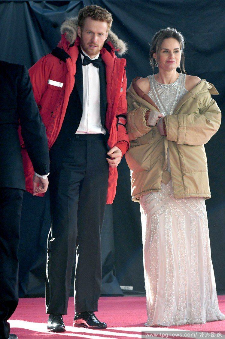 男星 Murray Fraser 飾演哈利王子(左)。圖/達志影像