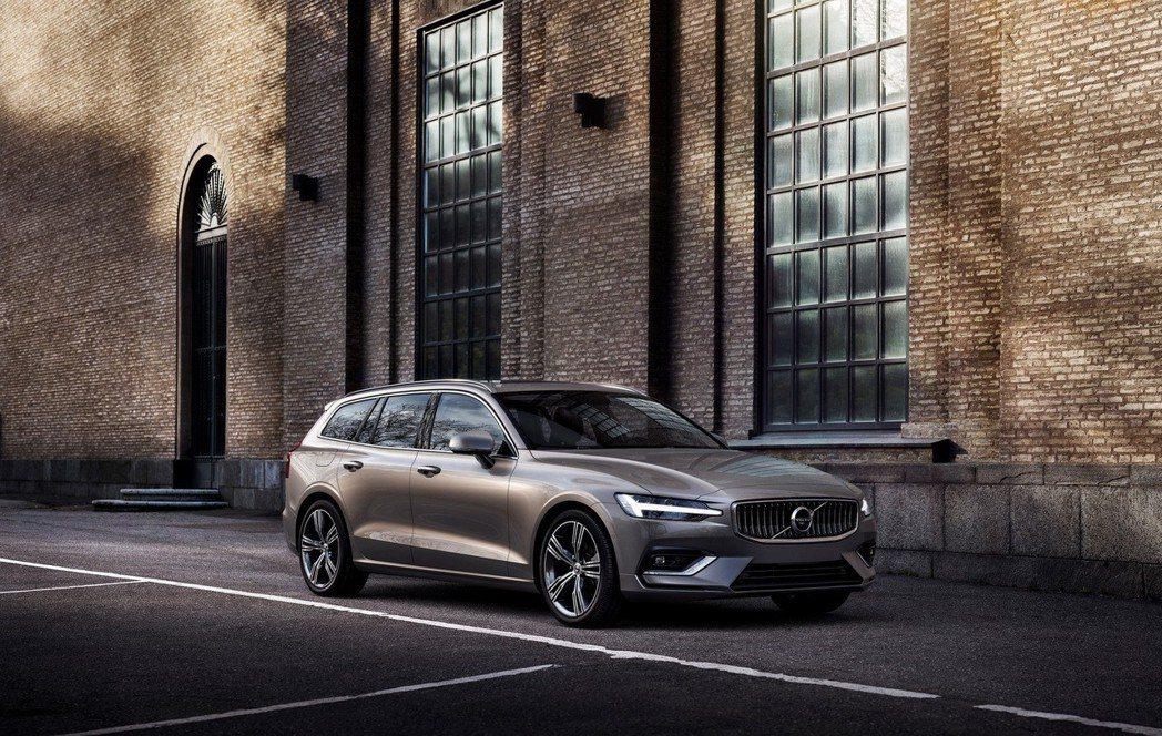 Volvo V60。 摘自Volvo