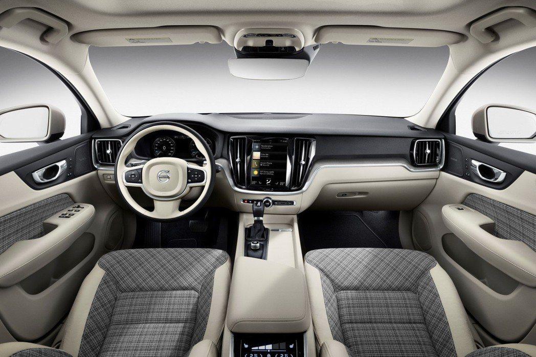 不同內裝風格的搭配 展現瑞典設計功力。 摘自Volvo