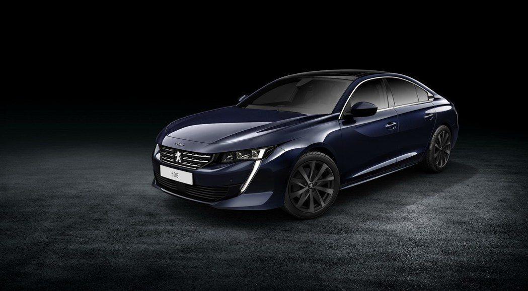 圖為全新Peugeot 508。 摘自Peugeot