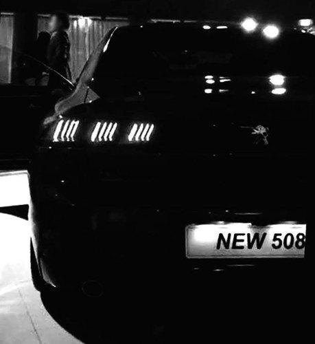 全新Peugeot 508實車照流出 日內瓦車展登場