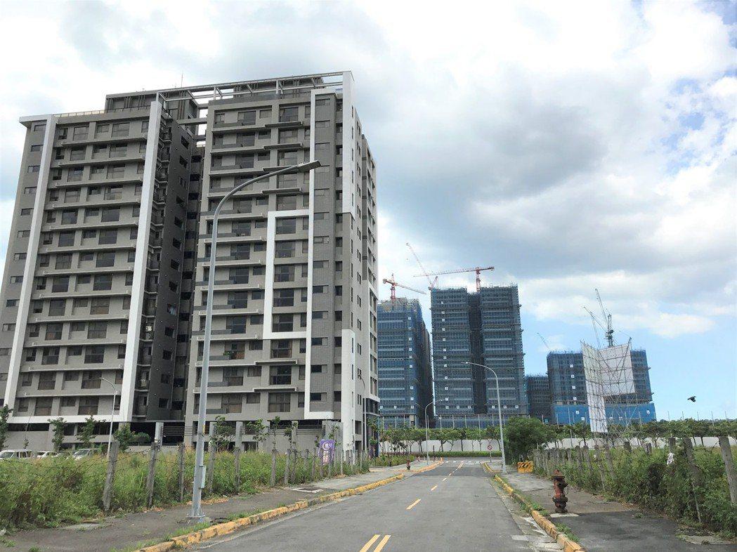 淡海新市鎮。記者游智文/攝影