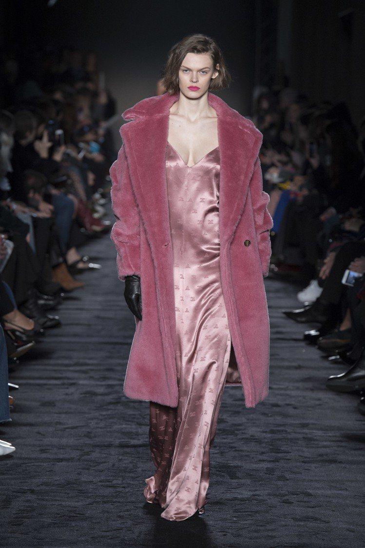 Max Mara本季側重於都會與戶外的對比,大衣仍是經典表現。圖/Max Mar...