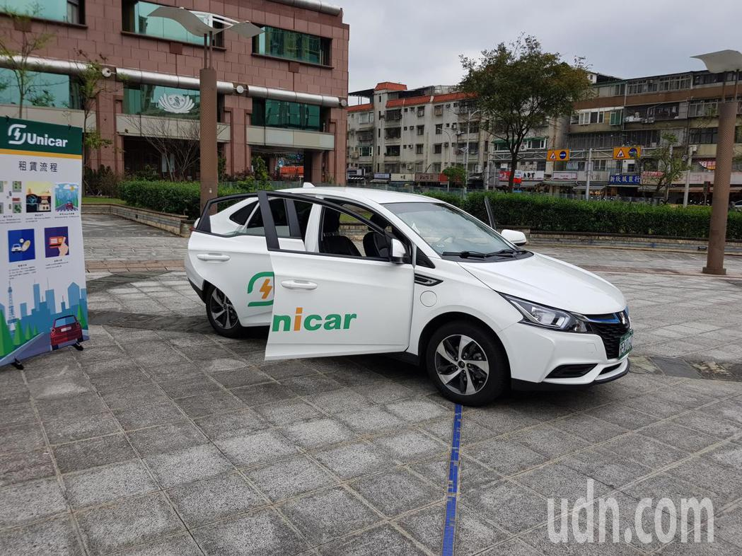 台北市副市長林欽榮今天下午宣傳3U政策成果新進度,Ucar服務預計最快下個月中旬...