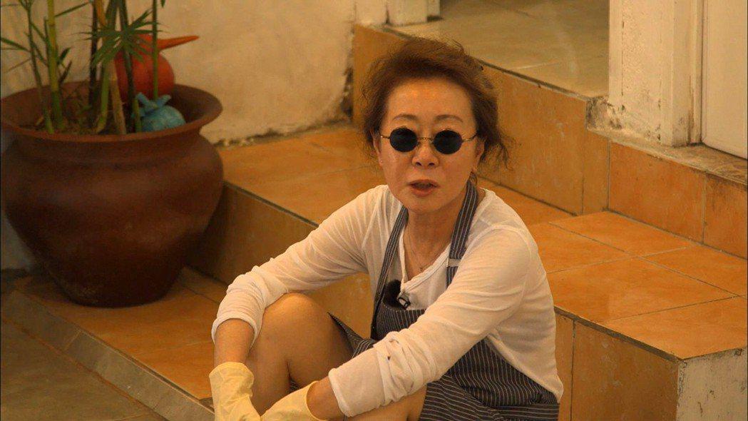 尹汝貞過70歲才迎接全盛期,擔心自己過勞。圖/東森戲劇台提供