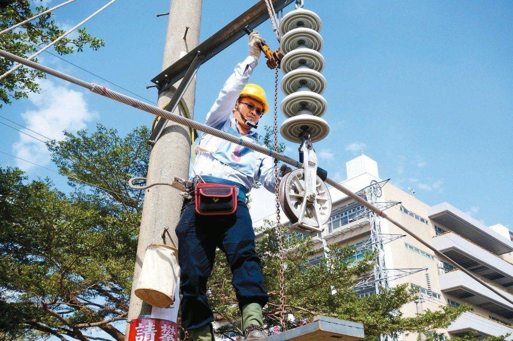 台電雇員今年首度「一年兩考」,第一梯次在5月招考740人。 圖/聯合報系資料照片