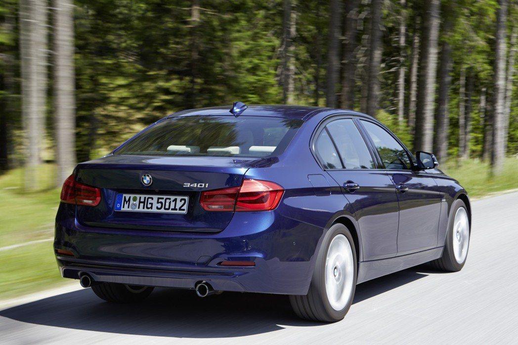 BMW 3-Series(F30)。 摘自BMW
