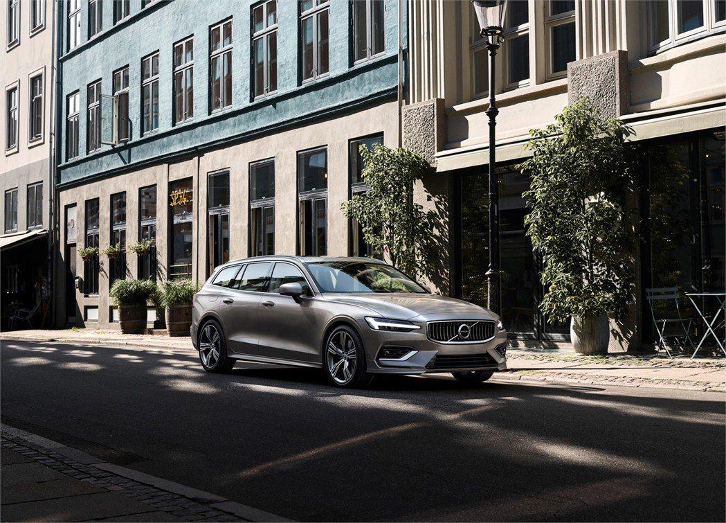 圖為新世代Volvo V60。 摘自Volvo