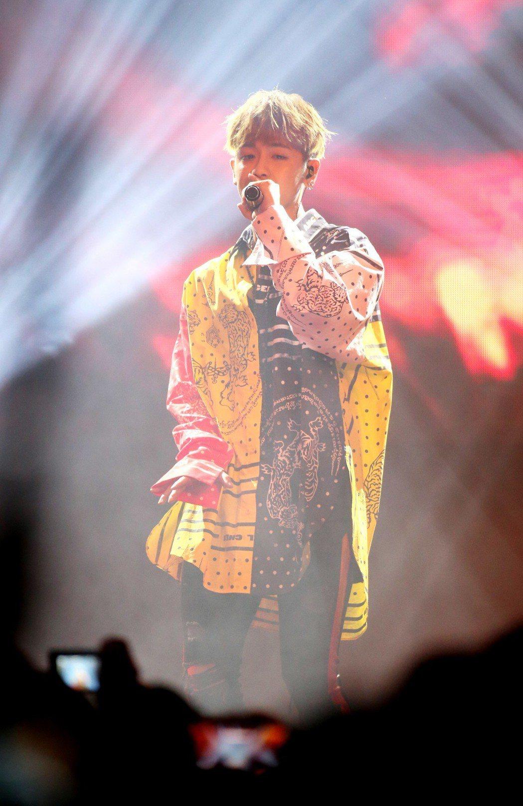 鼓鼓舉辦演唱會與歌迷同樂。記者陳瑞源/攝影
