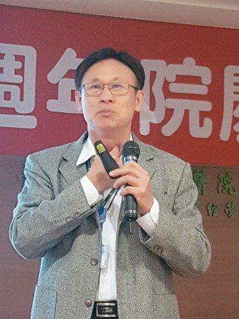 台南市立安南醫院副院長温義煇 記者修瑞瑩/攝影