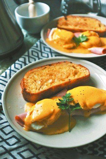 班尼迪克蛋 Egg Benedict好吃的班尼迪克蛋有兩個關鍵––有個性的荷...