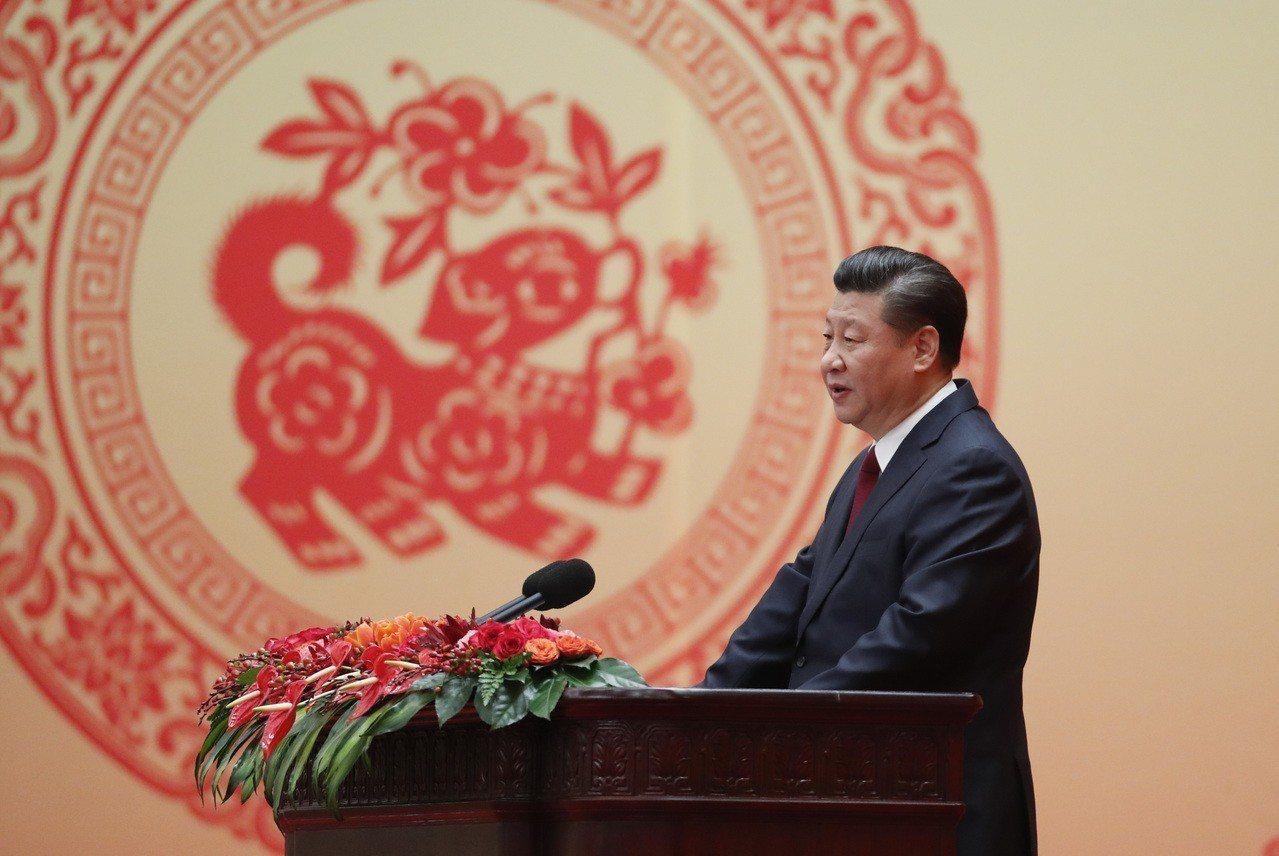 中共十九屆三中全會定廿六至廿八日在北京舉行。圖為中共中央總書記習近平。 中新社資...