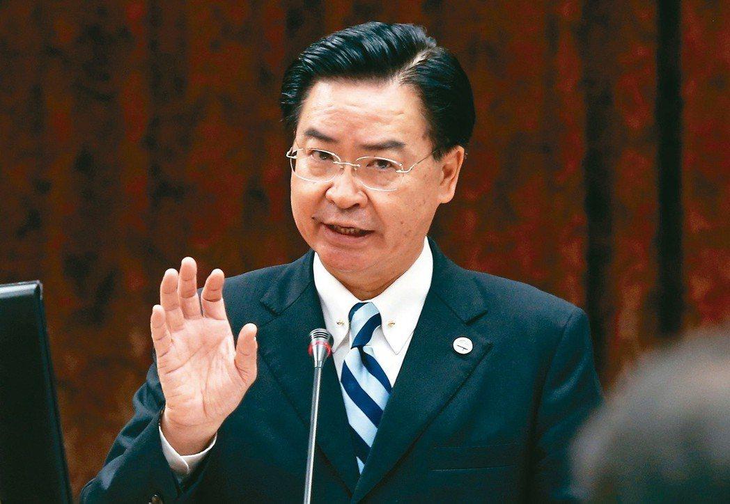 總統府秘書長吳釗燮接任外交部長。 圖/聯合報系資料照片