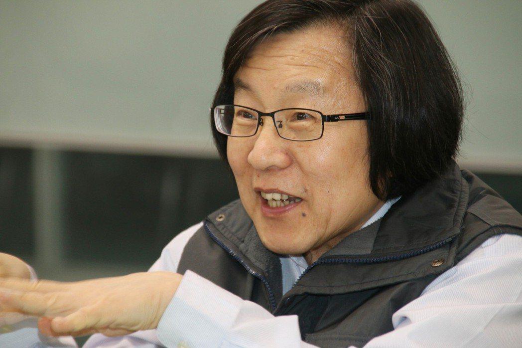 邱義仁外號「永遠的秘書長」,經歷可與吳釗燮較勁。 圖/聯合報系資料照片