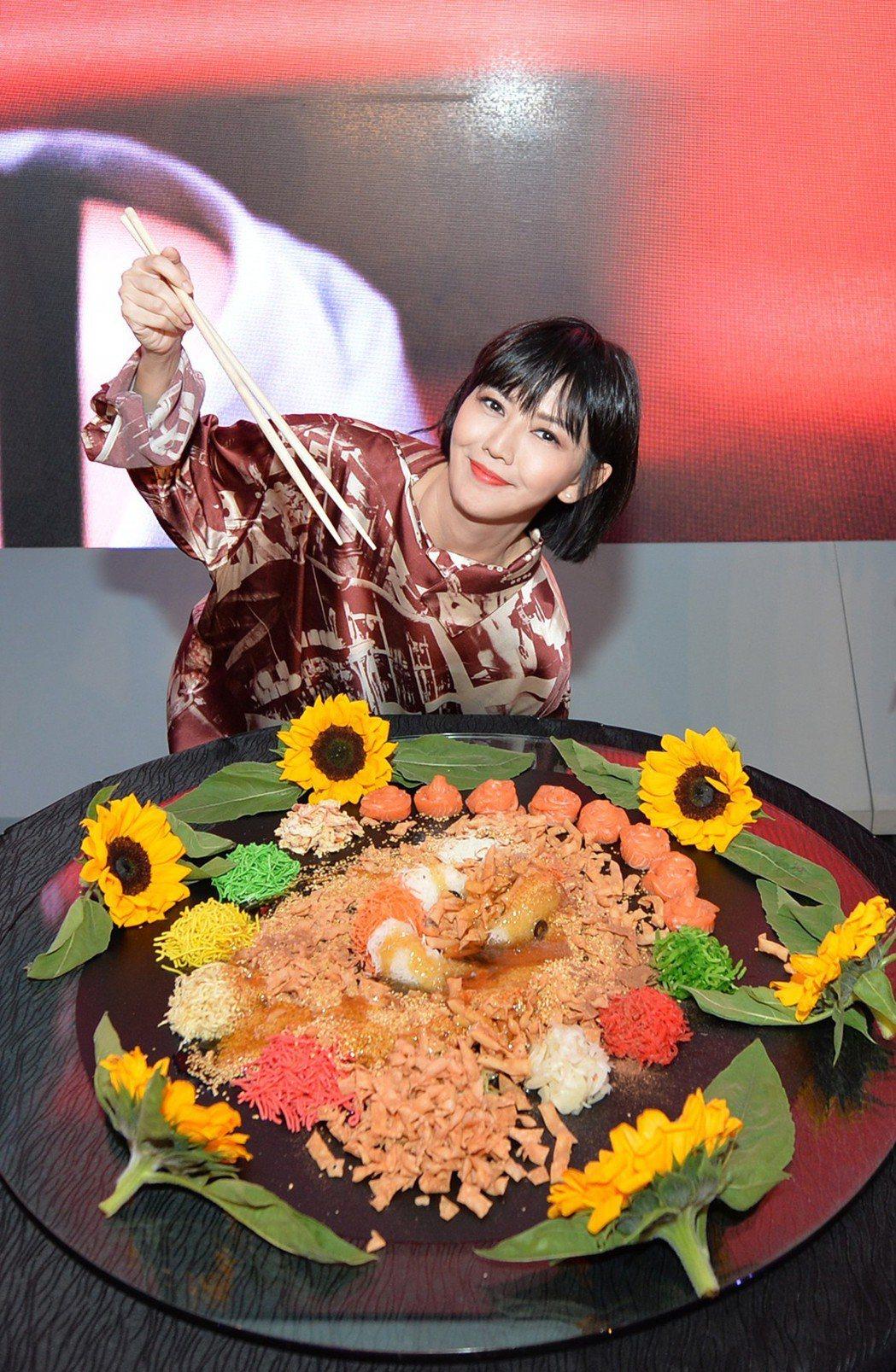 孫燕姿帶著新專輯「孫燕姿No.13作品:跳舞的梵谷」來到吉隆坡宣傳。圖/大馬環球...