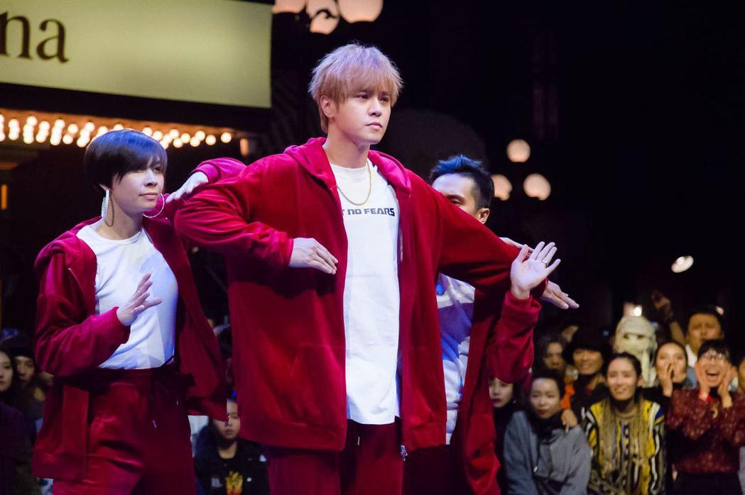 羅志祥擔任選秀節目「這!就是街舞」的隊長。圖/天地合娛樂提供