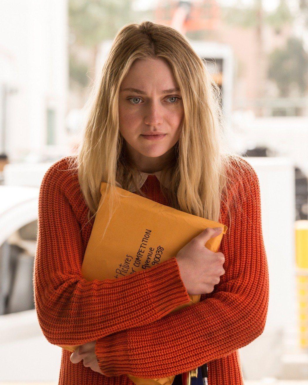 達珂塔芬妮在「溫蒂的幸福劇本」中飾演自閉症女孩。圖/威視提供