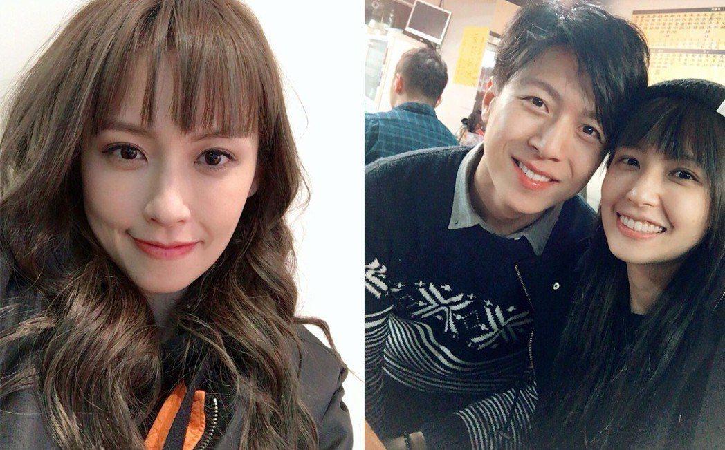 袁艾菲與男友被認為有夫妻臉。圖/擷自臉書